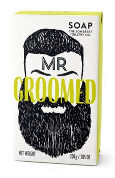 The Somerset Herrenseife 200 g - Mr. Groomed Zedernholz/Lemongras